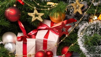 Обои на рабочий стол: подарки на Новый год 2017