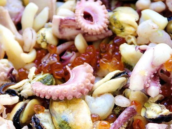 Морской коктейль: рецепт с фото.