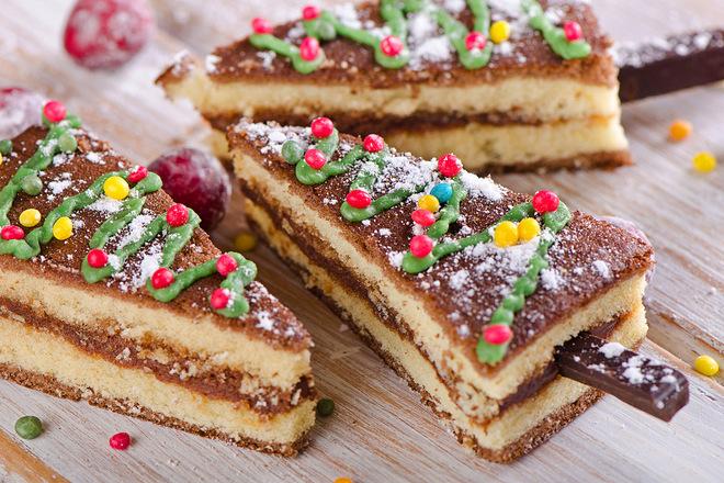 Десерты на Новый год Собаки 2018