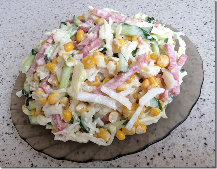 Салат из фруктов рецепт с йогуртом