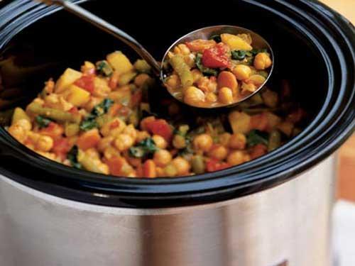 Овощной карри с нутом: рецепт с фото.