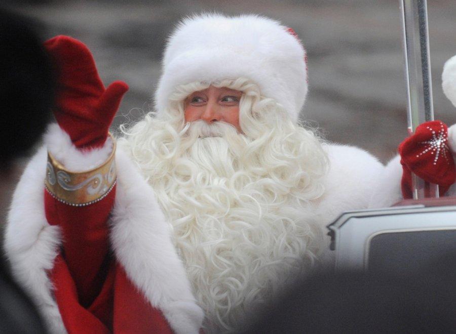 Поздравления на Новый год 2018 от Деда Мороза